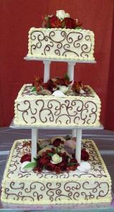 Jessica Wedding Cake