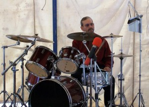 Pastor at Drums