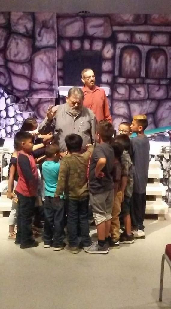 Jim Brown and Kids