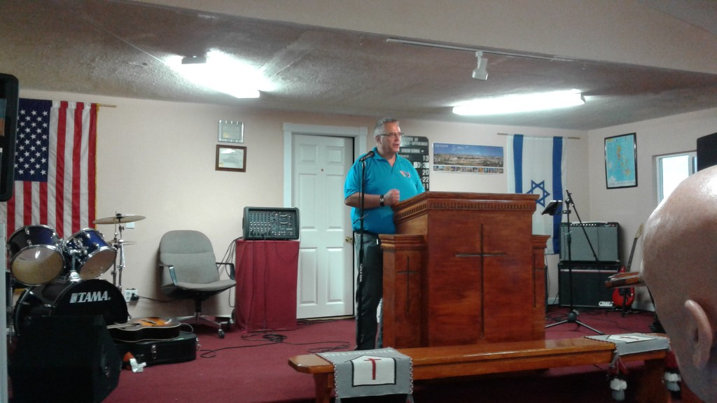 Pastor Dave at Iyanbito