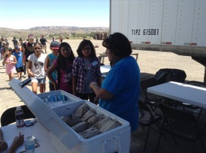 The Summer School Lunch program fed all the Super Kids Camp kids, Great Job and A Great Blessing for all the kids there.